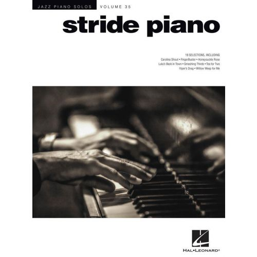 HAL LEONARD JAZZ PIANO SOLOS SERIES VOL.35 - STRIDE PIANO