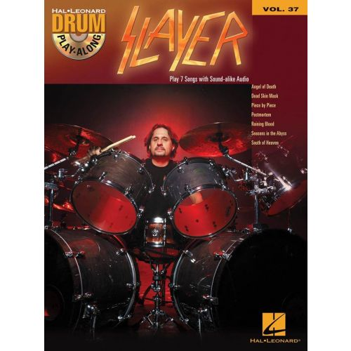 HAL LEONARD DRUM PLAY ALONG VOL.37 SLAYER + CD