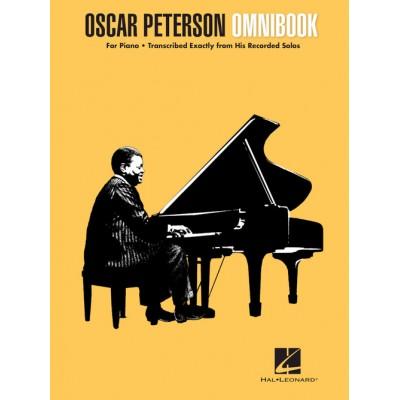 HAL LEONARD OSCAR PETERSON - OMNIBOOK - PIANO TRANSCRIPTIONS