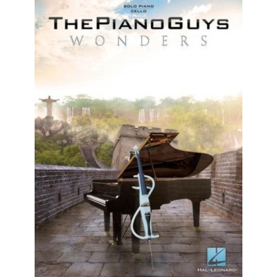 HAL LEONARD THE PIANO GUYS - WONDERS - PIANO SOLO WITH CELLO