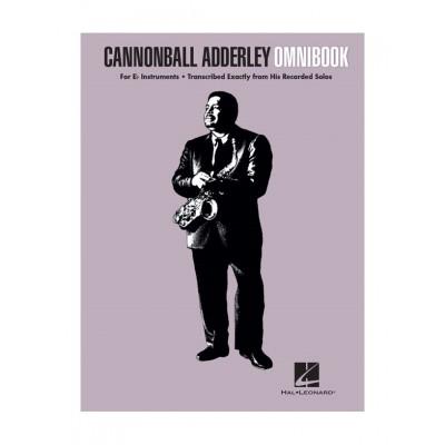HAL LEONARD CANNONBALL ADDERLEY - OMNIBOOK (Eb Instruments)