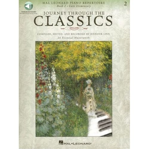 HAL LEONARD JOURNEY THROUGH THE CLASSICS BOOK 2 - LATE ELEMENTARY