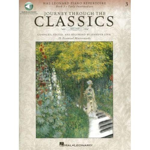 HAL LEONARD JOURNEY THROUGH THE CLASSICS BOOK 3 - EARLY INTERMEDIATE