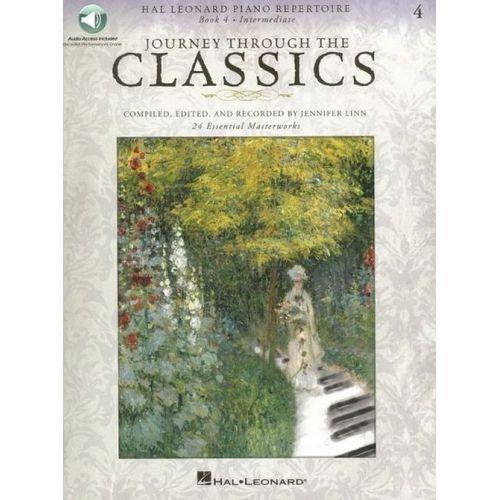 HAL LEONARD JOURNEY THROUGH THE CLASSICS BOOK 4 - INTERMEDIATE