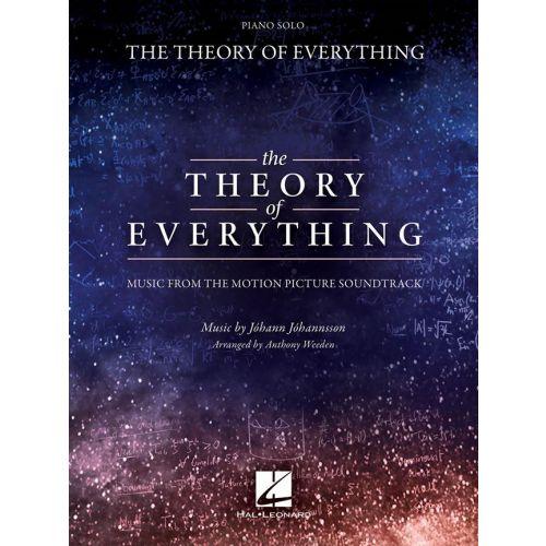 HAL LEONARD JOHANN JOHANNSSON - THE THEORY OF EVERYTHING - PVG