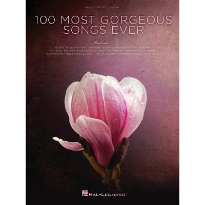 HAL LEONARD 100 MOST GORGEOUS SONGS EVER - PVG