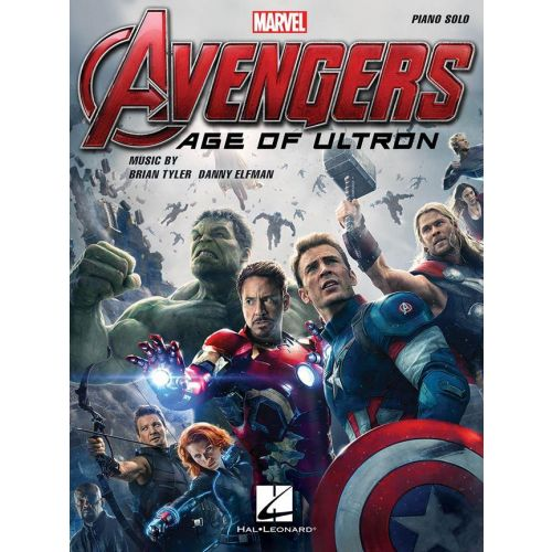 HAL LEONARD DANNY ELFMAN / BRIAN TYLER - THE AVENGERS AGE OF ULTRON - PIANO SOLO