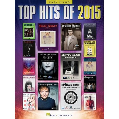 HAL LEONARD TOP HITS 2015 - PVG