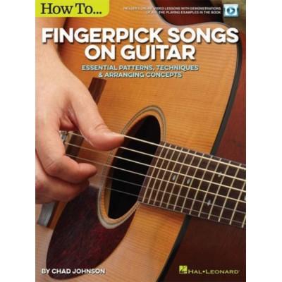 HAL LEONARD JOHNSON C. - HOW TO FINGERPICK SONGS ON GUITAR
