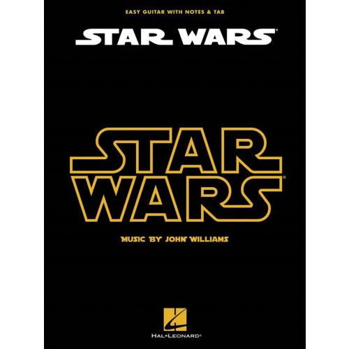 HAL LEONARD JOHN WILLIAMS - STAR WARS - EASY GUITAR TAB