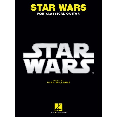 HAL LEONARD JOHN WILLIAMS - STAR WARS FOR CLASSICAL GUITAR