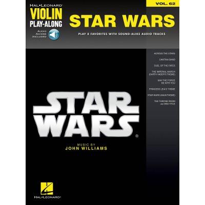 HAL LEONARD WILLIAMS JOHN - STAR WARS - HAL LEONARD VIOLIN PLAY ALONG - VIOLON