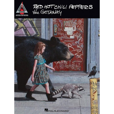 HAL LEONARD RED HOT CHILI PEPPERS - THE GETAWAY - GUITAR RECORDED VERSIONS