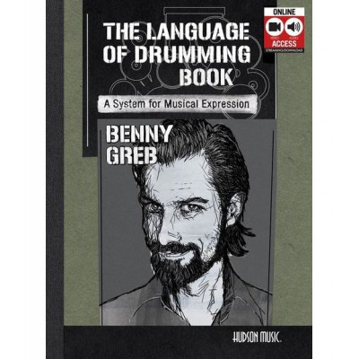 HAL LEONARD GREB BENNY THE LANGUAGE OF DRUMMING DRUMS + MP3 MP3 CD - DRUMS