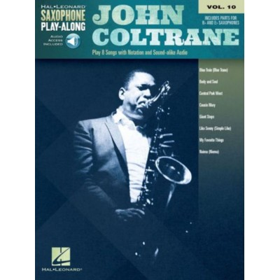hal leonard john coltrane hal leonard saxophone play along. Black Bedroom Furniture Sets. Home Design Ideas