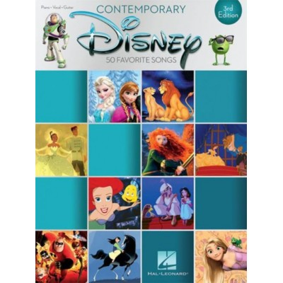 HAL LEONARD CONTEMPORARY DISNEY 3RD EDITION - PVG