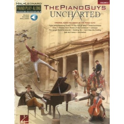 HAL LEONARD THE PIANO GUYS - UNCHARTED - PIANO PLAY-ALONG VOL.8