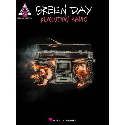 HAL LEONARD GREEN DAY - REVOLUTION RADIO - GUITARE TAB