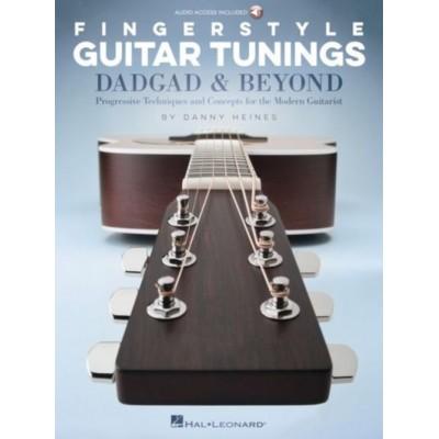 HAL LEONARD HEINES D. - FINGERSTYLE GUITAR TUNINGS: DADGAD & BEYOND - GUITAR