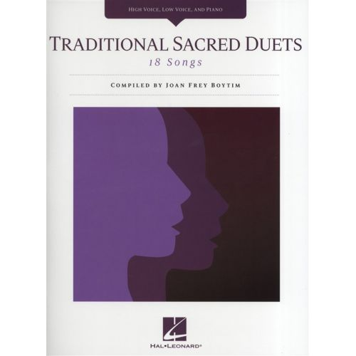 HAL LEONARD TRADITIONAL SACRED DUETS - VOICE