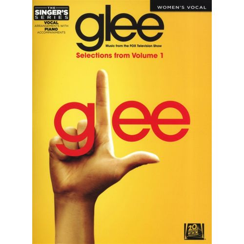 HAL LEONARD THE SINGERS SERIES GLEE WOMENS EDITION VOLUME 1 VOICE