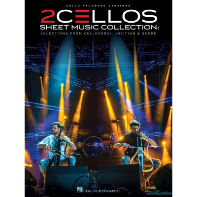 HAL LEONARD 2CELLOS SHEET MUSIC COLLECTION - VIOLONCELLE (SULIC LUKA / HAUSER STJEPAN)
