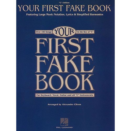 HAL LEONARD YOUR FIRST FAKE- PVG