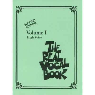 HAL LEONARD REAL VOCAL BOOK VOL.1 - HIGH VOICE