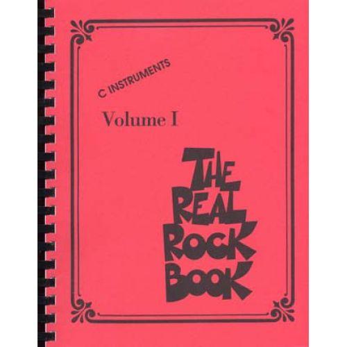 HAL LEONARD REAL ROCK BOOK VOL.1 C INSTRUMENT