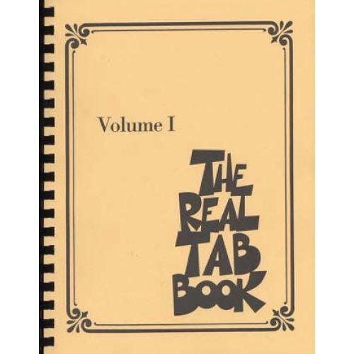HAL LEONARD REAL TAB BOOK VOL.1