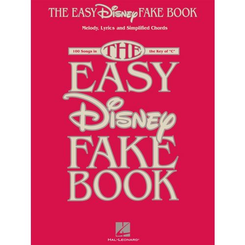 HAL LEONARD THE EASY DISNEY FAKE- C INSTRUMENTS