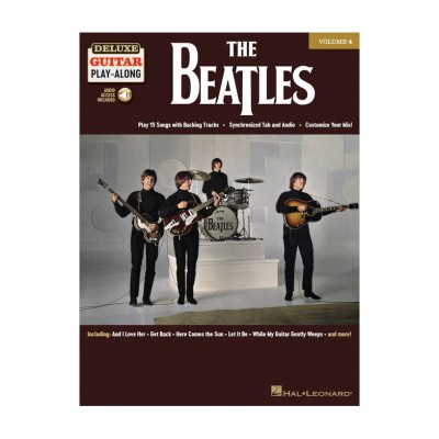 HAL LEONARD THE BEATLES - DELUXE GUITAR PLAY-ALONG VOL.4