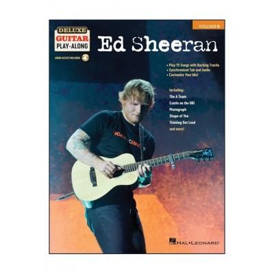 HAL LEONARD ED SHEERAN - DELUXE GUITAR PLAY-ALONG VOL.9