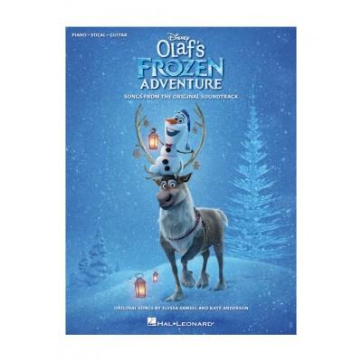 HAL LEONARD DISNEY'S OLAF'S FROZEN ADVENTURE FOR PVG
