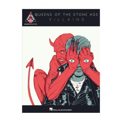 HAL LEONARD QUEENS OF THE STONE AGE - VILLAINS - GUITARE TAB