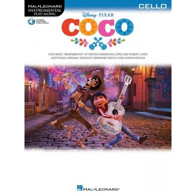 HAL LEONARD DISNEY PIXAR - COCO - CELLO
