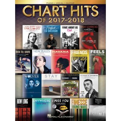 HAL LEONARD CHART HITS OF 2017-2018 - PVG