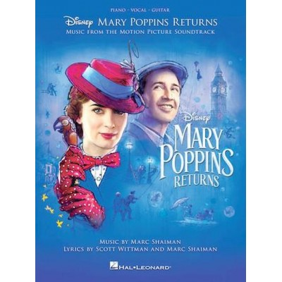 HAL LEONARD MARY POPPINS RETURNS - PVG