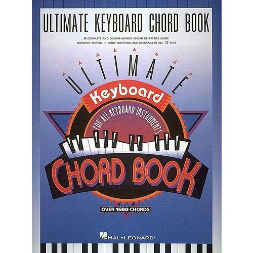HAL LEONARD ULTIMATE KEYBOARD CHORD - PIANO SOLO