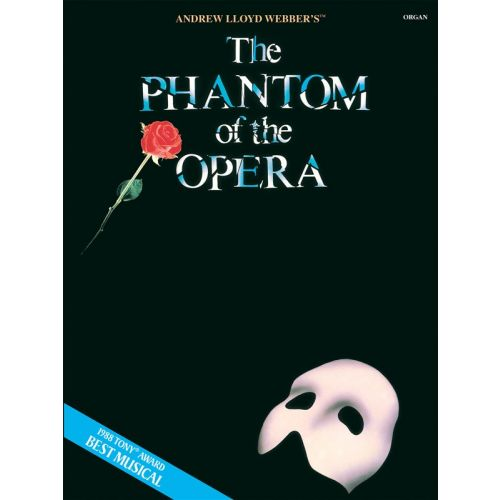 HAL LEONARD ANDREW LLOYD WEBBER PHANTOM OF THE OPERA - ORGAN