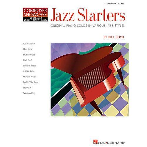 HAL LEONARD COMPOSER SHOWCASE BILL BOYD JAZZ STARTERS - PIANO SOLO