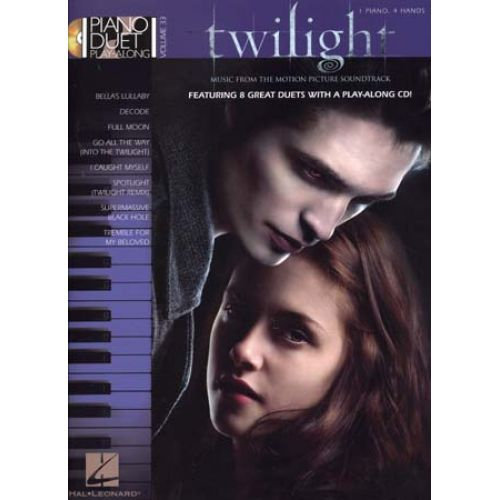 HAL LEONARD PLAY ALONG VOL.33 TWILIGHT + CD - PIANO DUET