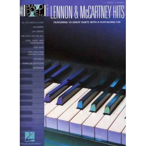 WISE PUBLICATIONS LENNON & MCCARTNEY - PIANO DUET PLAY ALONG VOL.39 + CD