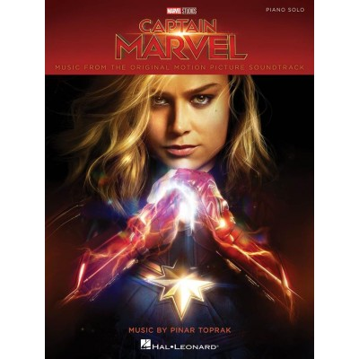 HAL LEONARD PINAR TOPRAK - CAPTAIN MARVEL SOUNDTRACK - PIANO