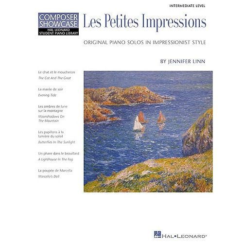 HAL LEONARD COMPOSER SHOWCASE JENNIFER LINN LES PETITES IMPRESSIONS - PIANO SOLO