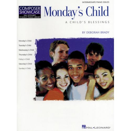 HAL LEONARD MONDAY'S CHILD - PIANO SOLO