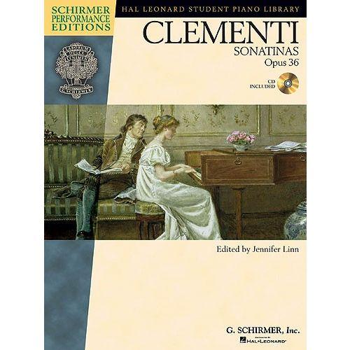 SCHIRMER LINN JENNIFER - MUZIO CLEMENTI - SONATINAS OPUS 36 - PIANO SOLO