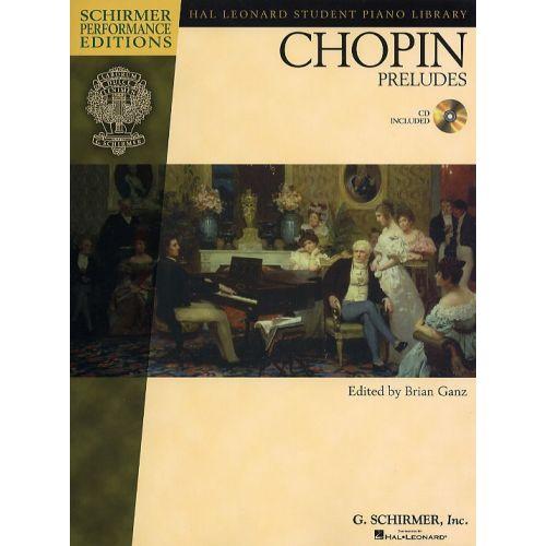 SCHIRMER CHOPIN FREDERIC - CHOPIN - PRELUDES - PIANO SOLO