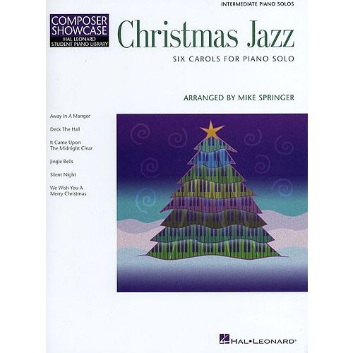 HAL LEONARD COMPOSER SHOWCASE CHRISTMAS JAZZ - PIANO SOLO