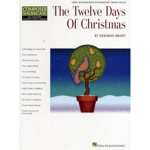 HAL LEONARD THE TWELVE DAYS OF CHRISTMAS - PIANO SOLO